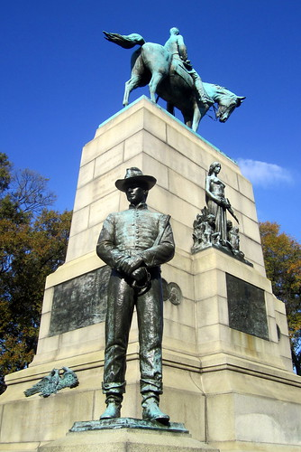 Washinton DC: William Tecumseh Sherman Monument   by wallyg