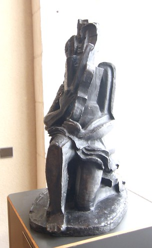Ossip ZADKINE (1890-1967) - Projet de monument à Guillaume Apollinaire, 1937   by Heinz Theuerkauf