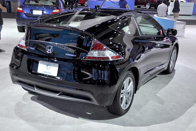 CR Z rear