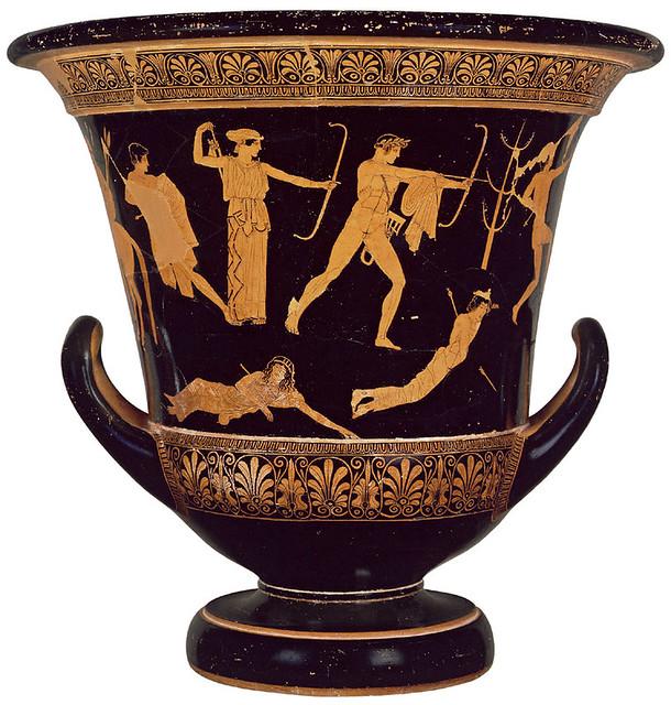-0450 Ártemis, Apolo y los nióbidas