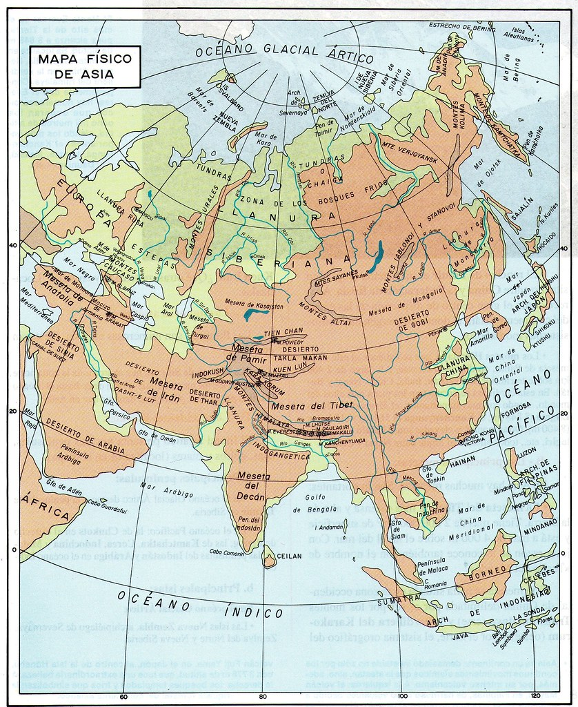 Mapa Físico de Asia | ECONCIENCIA PERU1 | Flickr on map of asia with asia, map of east asia only, mapa politica asia, lanzhou on a political map of asia, map of asia and america, 1940s map of europe and asia, map od asia, map of asia 2013, full map of asia, map of asia countries, whole map of asia,
