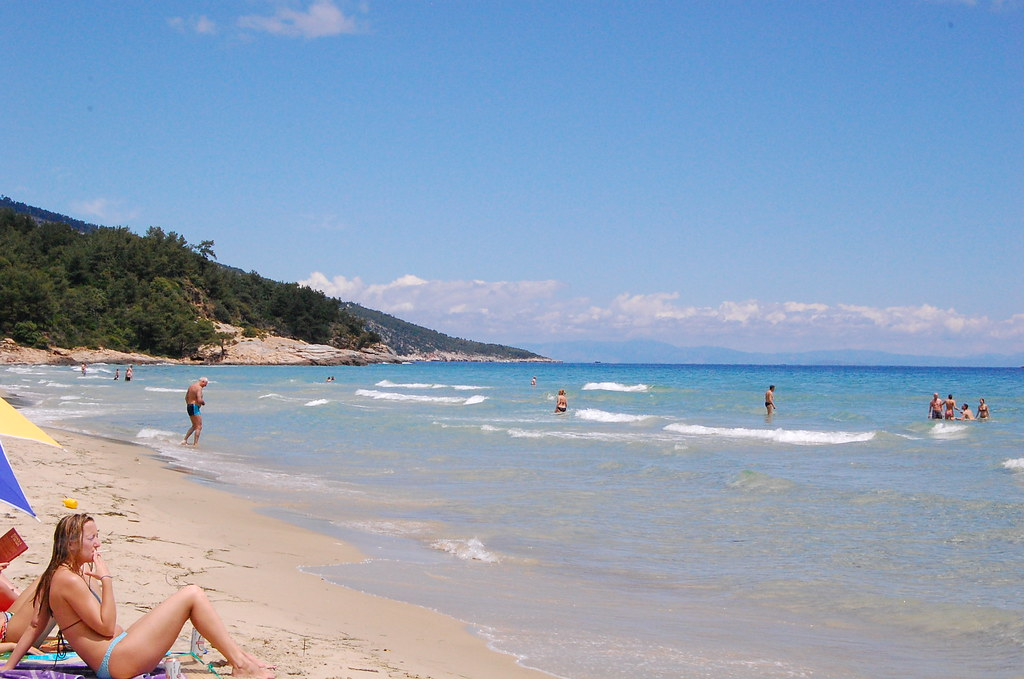 Thassos Paradise Beach Paradise Beach Is One Of The Most