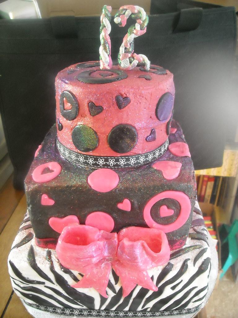 12 year old girl cake