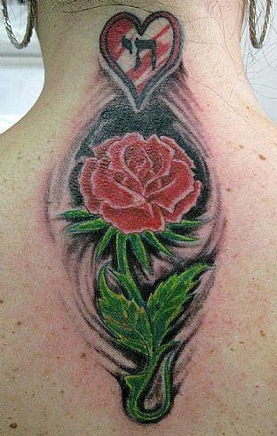 Tatuagem Rosa Rose Tattoo