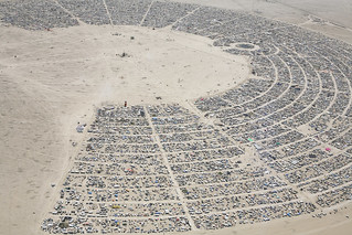 Burning Man - A View From Above 2010 - Please View LARGE