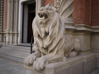 Sant Antonio da Padova church lion (web)