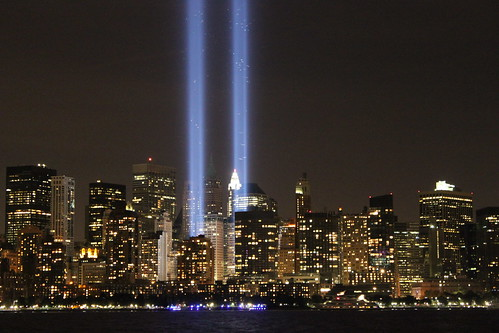 The Twin Towers Light Memorial, New York City | by Hazboy