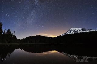 A Night at Mt. Rainier - Part 14 - 3:27am | by David M Hogan