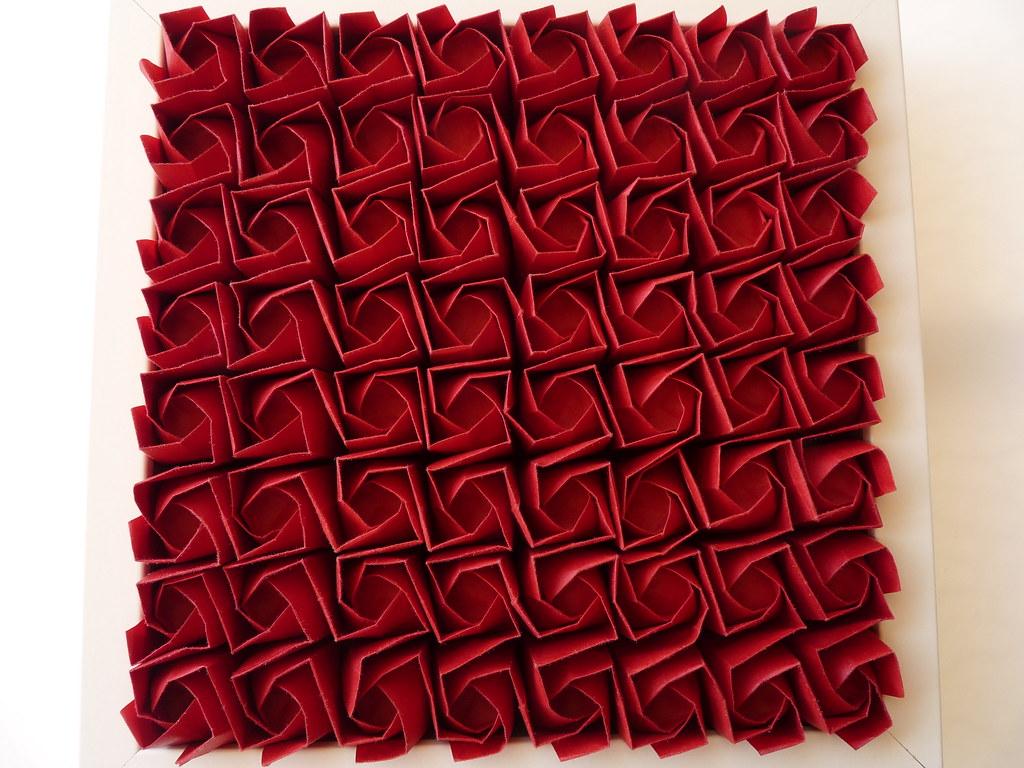 64 kawasaki rose tessellation | I 've folded this model for ... on