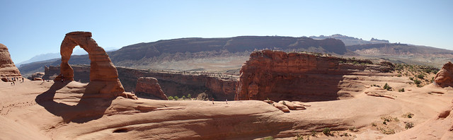 Delicate Arch Panorama - Arches National Park, Utah
