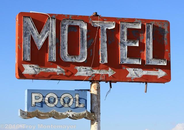 Motel Sign, Yucca, AZ