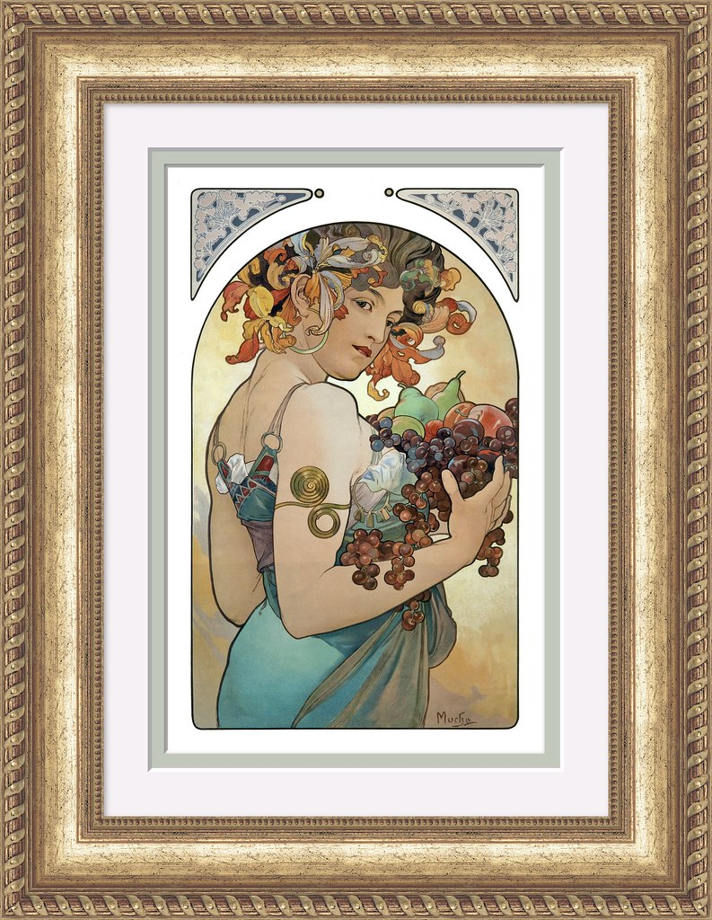 Alfons Mucha - Frame created with New ImageFramer 3 for th…   Flickr
