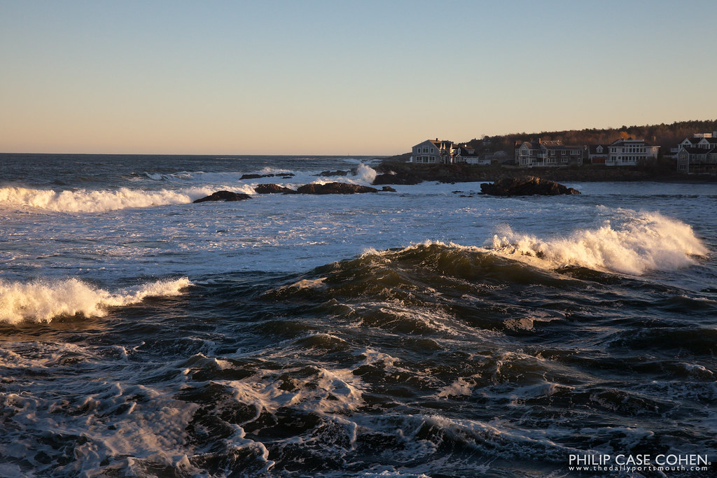Waves | Perkins Cove, ME by Philip Case Cohen