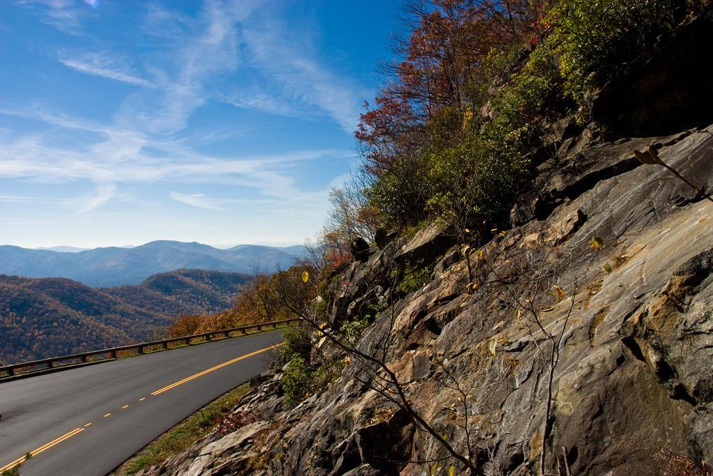 Blue Ridge Parkway - Mountains