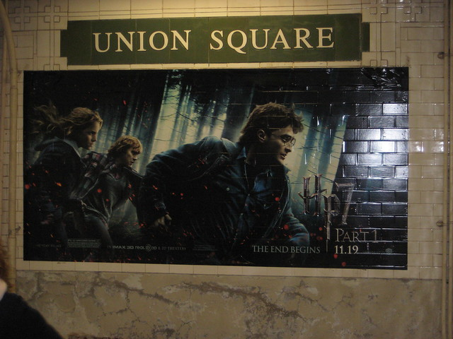 Harry Potter Seven Billboard Subway Poster 8608