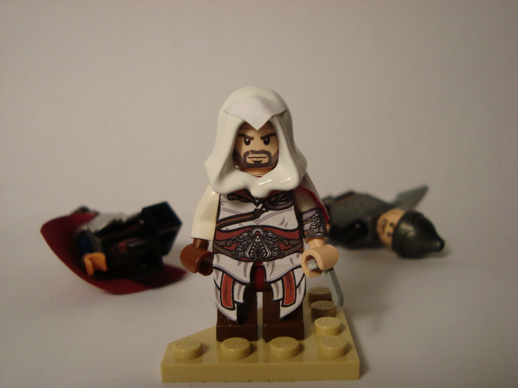 Lego Assassins Creed Brotherhood Ezio Auditore Da Firenze