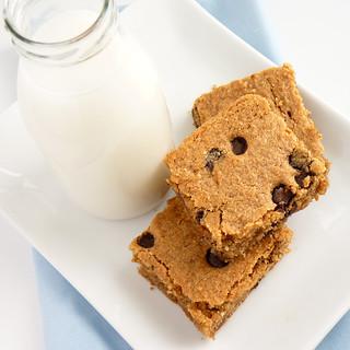 Gluten-Free Almond Blondies | by River (Wing-It Vegan)