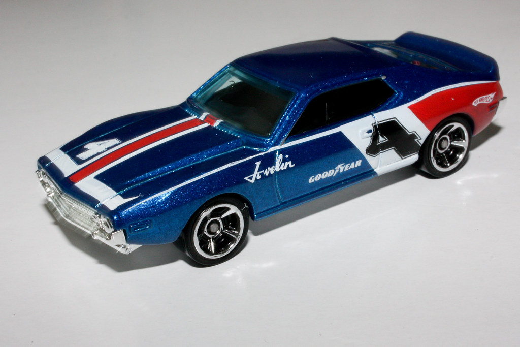 Hot Wheels AMC Javelin AMX | Photo by Kevin Borland  | Flickr