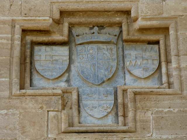Castle of Kolossi near Limassol - Coat of arms of the Lusignans of Cyprus