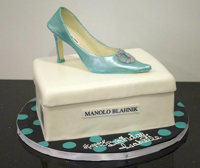 BC4155 - manolo blahnik shoe cake
