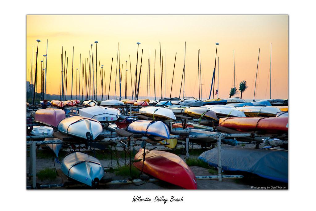 Wilmette Sailing Beach - Summer '10 | Geoff Martin | Flickr