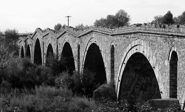 Terzijski Bridge (Терзијски мост) over Erenik river near Đakovica (Ђаковица, Gjakovë)