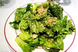 Le Relais de Venise l'Entrecôte Green Salad with Mustard Vinaigrette | by wonggawei