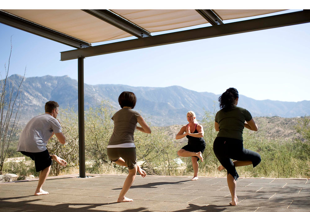 Miraval Morning Yoga
