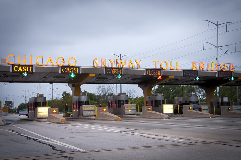 Chicago Skyway Toll Booth