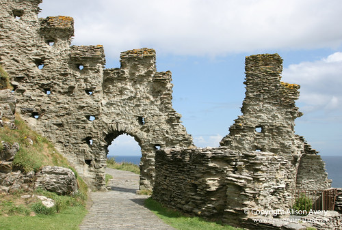 North Gate, Inner Ward, Tintagel Castle, Tintagel, Cornwall | by Beautiful England
