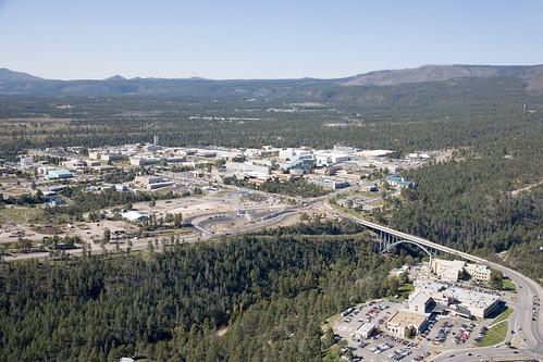 Aerial View of Los Alamos National Laboratory - 3