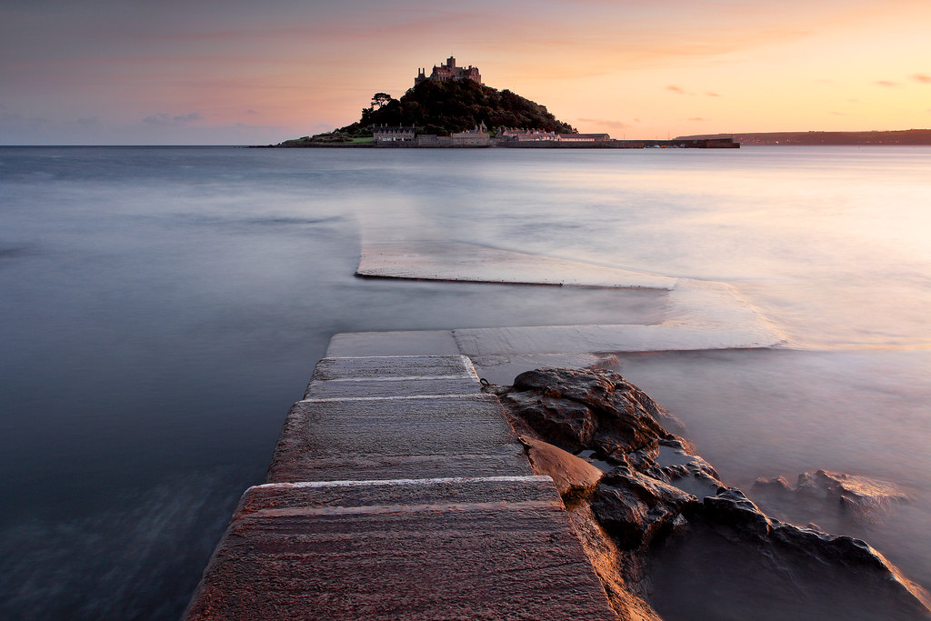 Evening at St.Michael's Mount