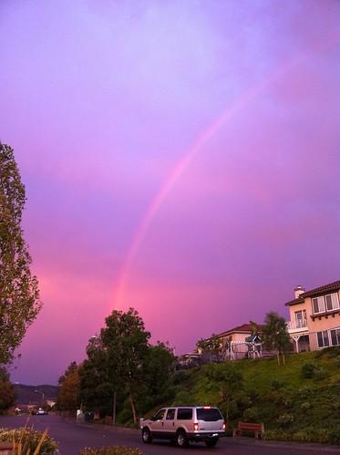 cameraphone rainbow mopho iphone redbow