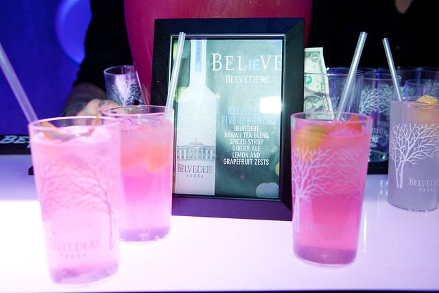 Belvedere's Five O Punch