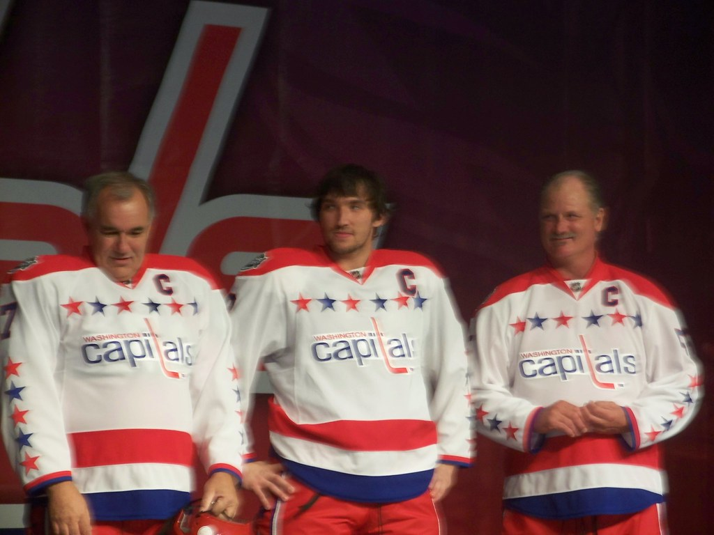 outlet store 1c994 066e3 Caps Jersey for 2011 Winter Classic | Yvon Labre, Alex Ovech ...