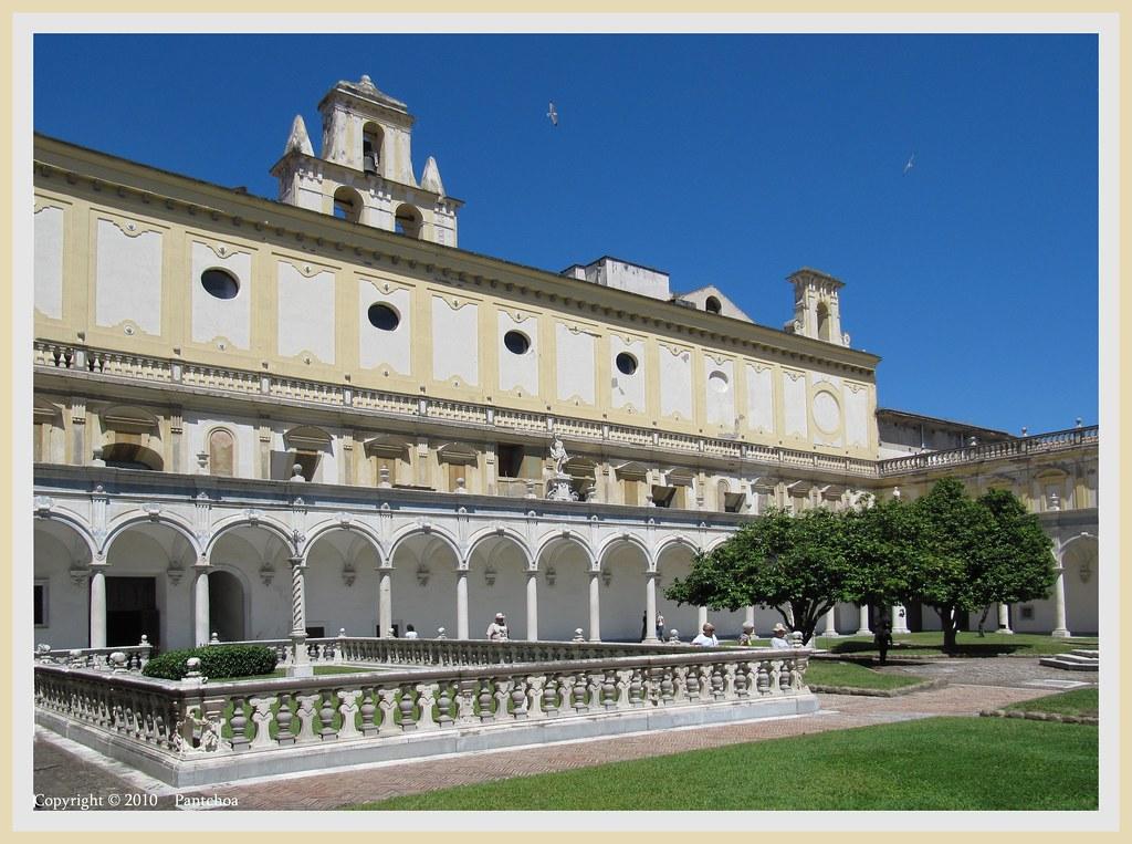 Naples Certosa San Martino 6 The Certosa Di San Martin Flickr