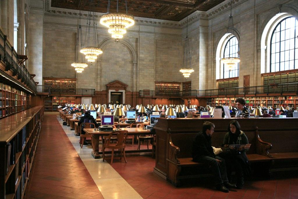 New York City, New York Public Library NYPL, Stephen A  Sc