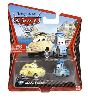 Cars 2 Character Die Cast Guido Luigi Package Flickr