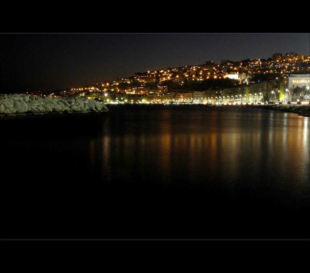 Napoli Di Notte Panorama
