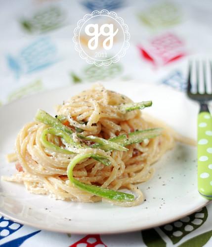 spaghetti asparagi e ricotta | by il gatto goloso