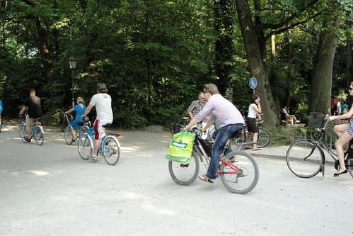 Um dia no Englischer Garten / At day at the Englischer Gar