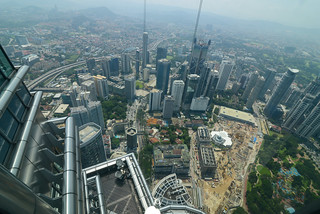 View from the Petronas Tower's observation deck | by Jorge Lascar