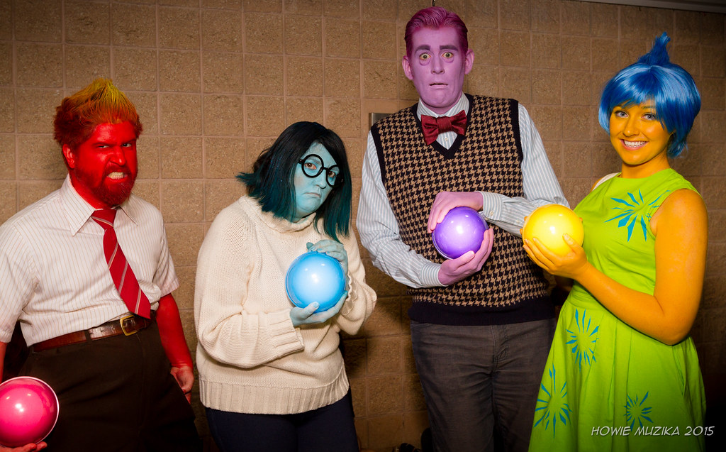 Tampa Bay Comic-Con 2015 Cosplay - INSIDE OUT - ANGER, SAD