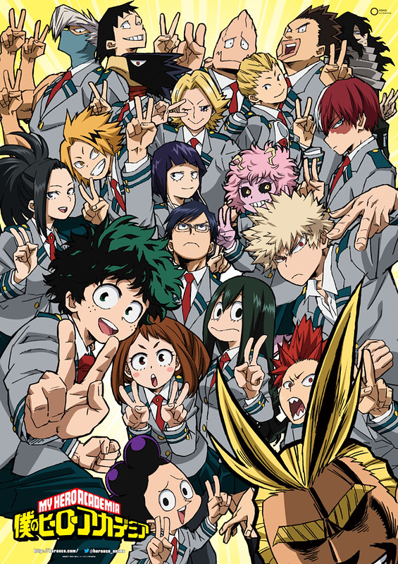 boku no hero academia season 2 poster
