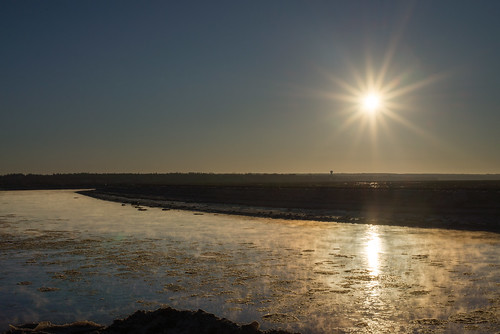 canada shawnharquail travel ice outdoor petitcodiac river shawnharquailcom sunrise sunstar water winter