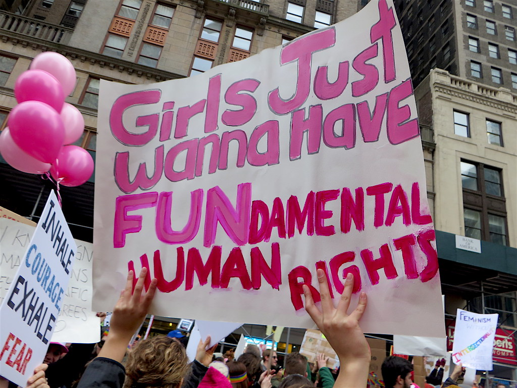 Girls Just Wanna Have Fundamental Human Rights After The S Flickr