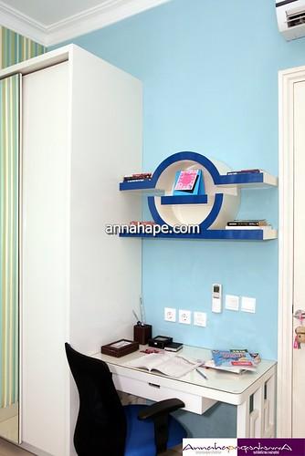 Meja Belajar di Kamar Tidur Anak | Design by Annahape ...