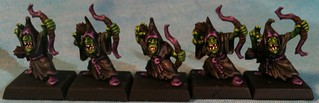 Five Franticly Painted Night Goblin Archers | by Muskie McKay