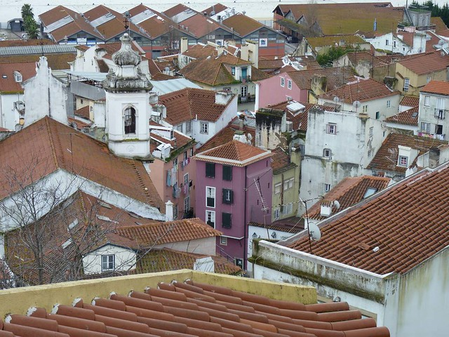 Roof top view - Lisbon