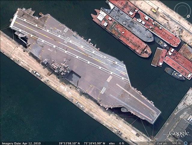 Aircraft carrier John F. Kennedy
